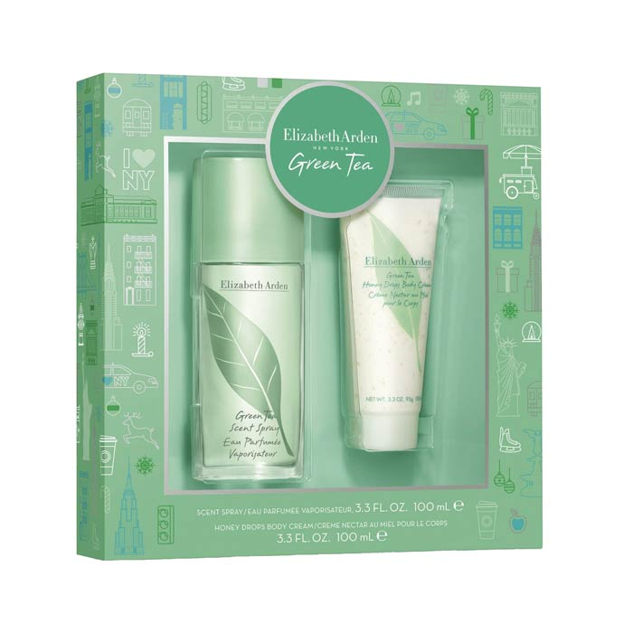 Giftset Elizabeth Arden Green Tea Edp 100ml + Body Lotion 100ml