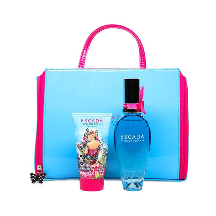 Giftset Escada Turquoise Summer Edt 50ml