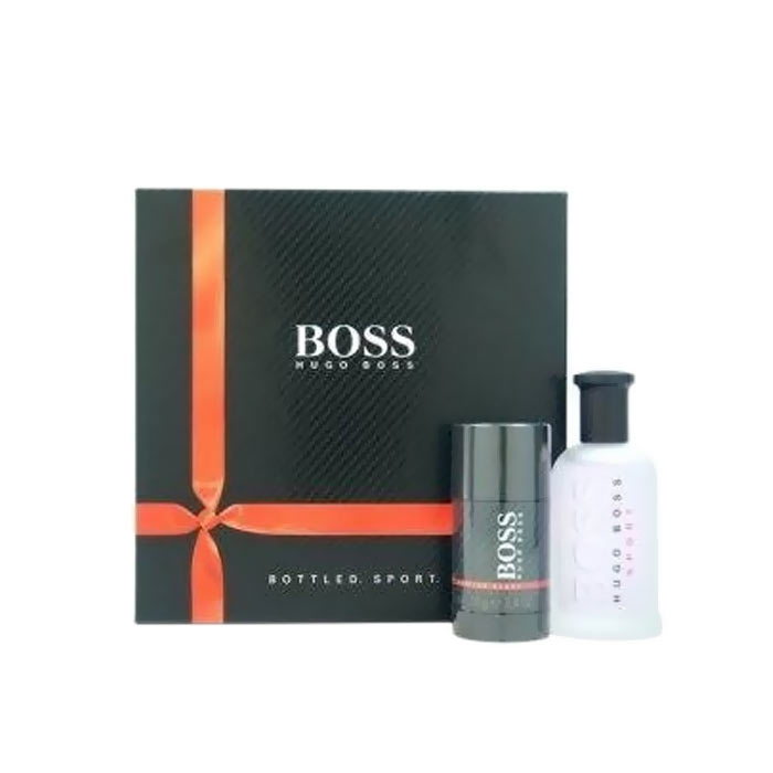 Giftset Hugo Boss Bottle Sport Edt 100ml + Deostick 75ml
