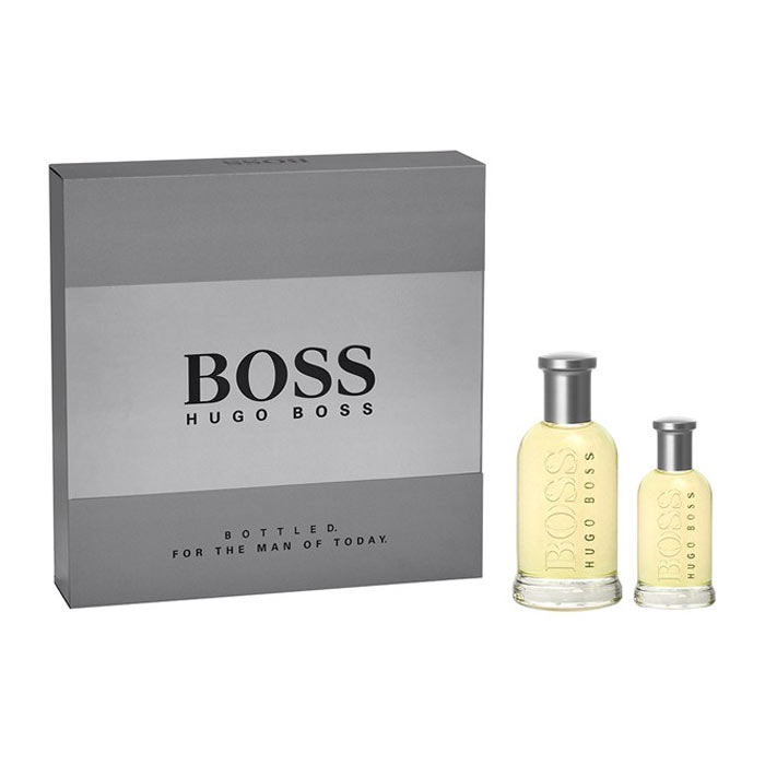 Giftset Hugo Boss Bottled Edt 100ml + 30ml