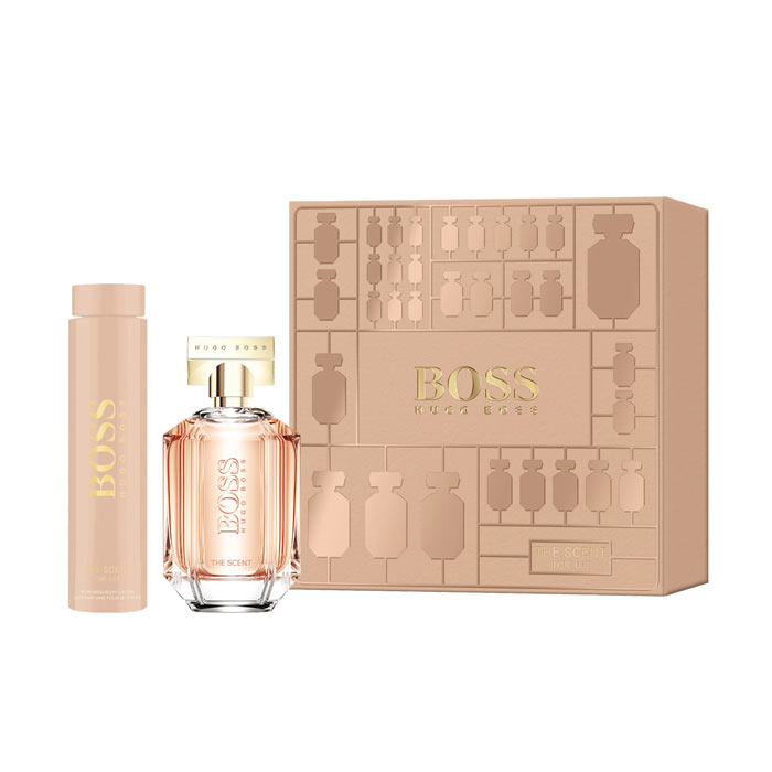Giftset Hugo Boss The Scent For Her Edp 100ml + Body Lotion 200ml