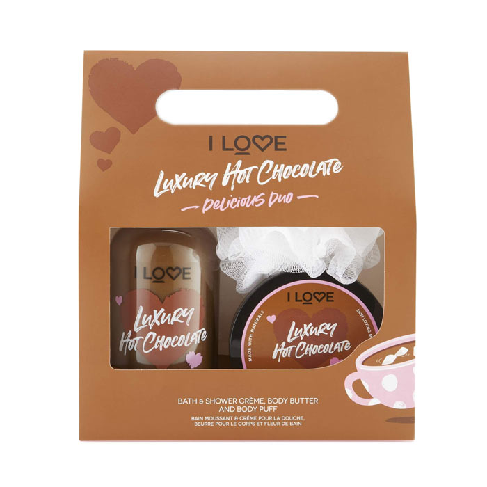 Giftset I Love...Delicious Duo Luxury Hot Chocolate