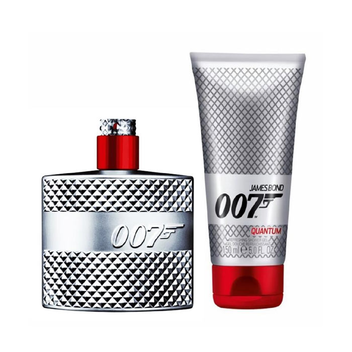 Giftset James Bond Quantum Edt 50ml + Shower Gel 150ml