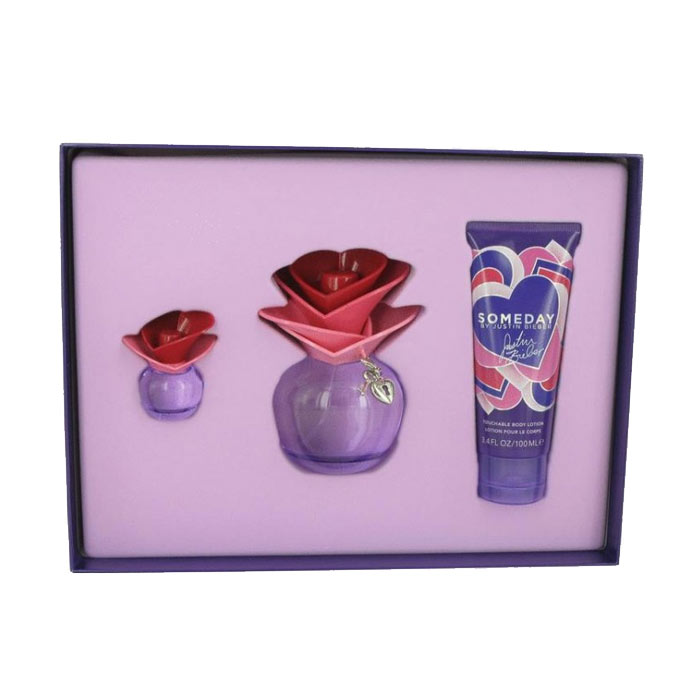 Giftset Justin Bieber Someday Edp 30ml + Body Lotion 50ml + Edp 74ml