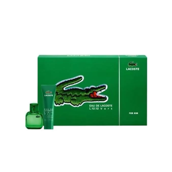 Giftset Lacoste Eau De Vert Edt 30ml + Shower Gel 50ml