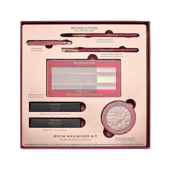 Giftset Makeup Revolution Brow Maximiser Kit