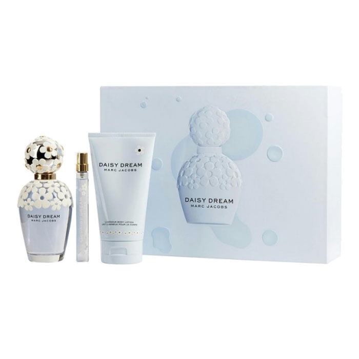 Giftset Marc Jacobs Daisy Dream Edt 100ml + BL 150ml + Edt 10ml