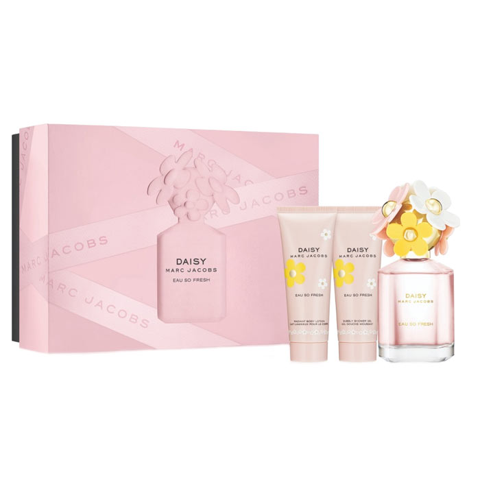 Giftset Marc Jacobs Daisy Eau So Fresh Edt 75ml + BL + SG 75ml