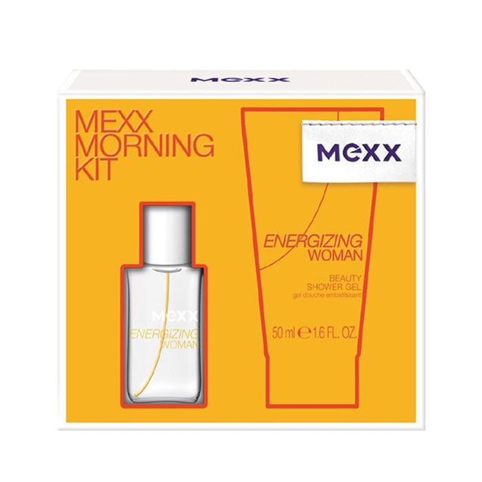 Giftset Mexx Energizing Woman Edt 15ml + 50ml Shower Gel