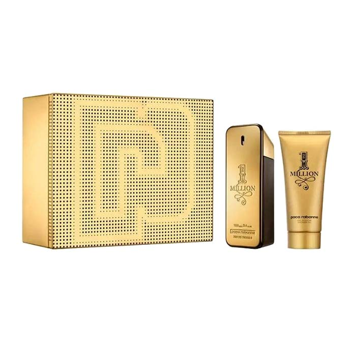 Giftset Paco Rabanne 1 Million Edt 100ml + Shower Gel 100ml