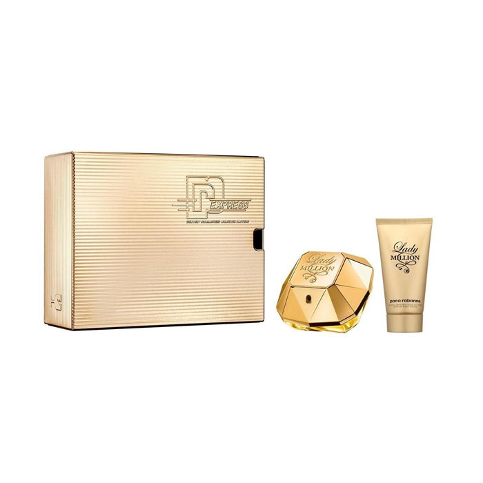 Giftset Paco Rabanne Lady Million Edp 50ml + Body Lotion 100ml