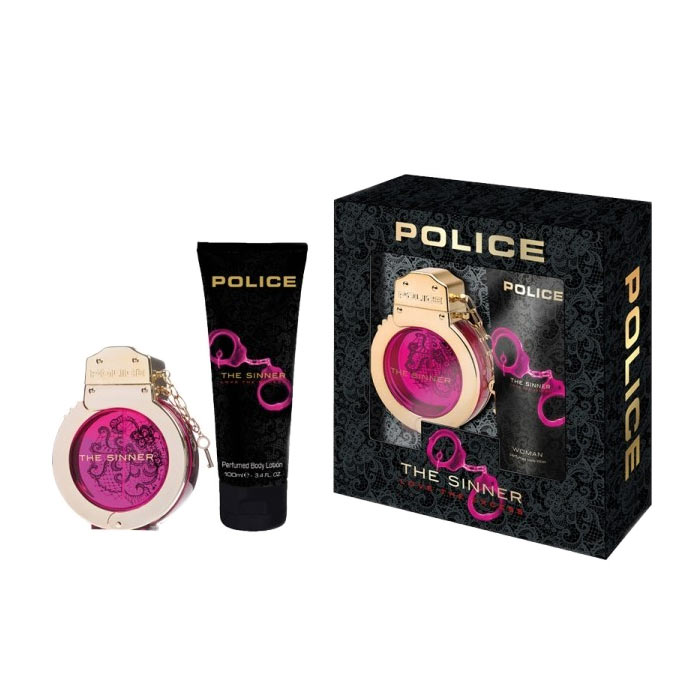 Giftset Police The Sinner Woman Edt 30ml