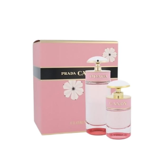 Giftset Prada Candy Florale Edt 80ml + Edt 30ml