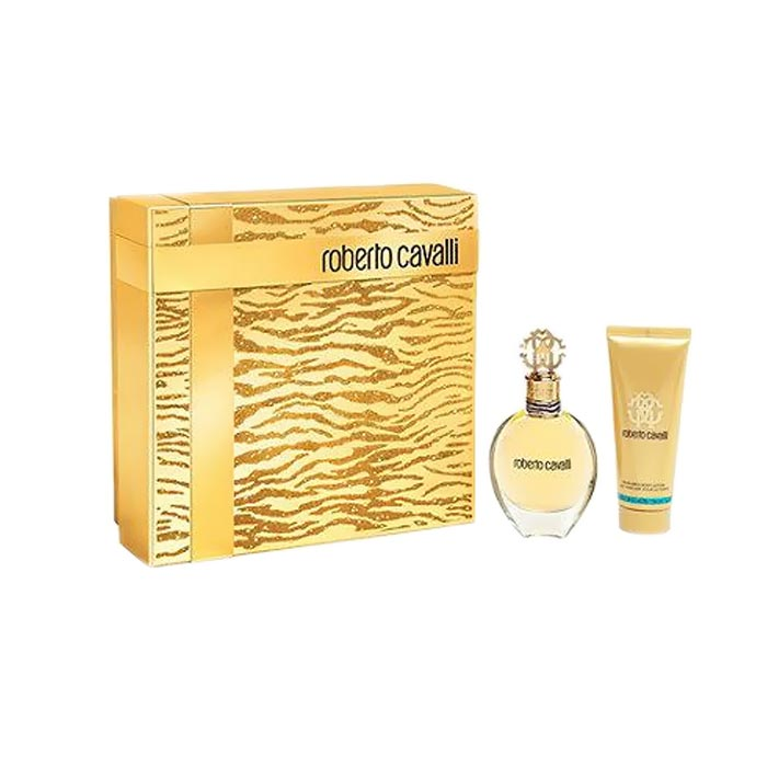 Giftset Roberto Cavalli Edp 30ml + Shower Gel 75ml