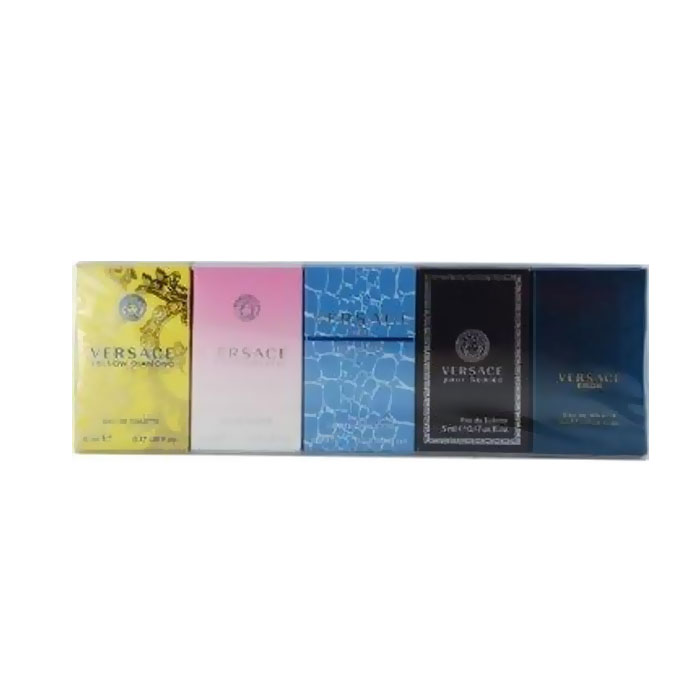 Giftset Versace Mini Set 5x5ml