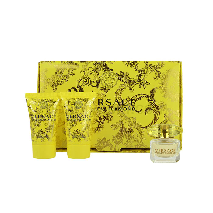 Giftset Versace Yellow Diamond Edt 5ml