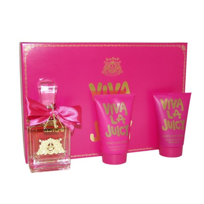 Giftset Viva La Juicy Edp 100ml + ShowerGel125ml + BodyLotion 125ml