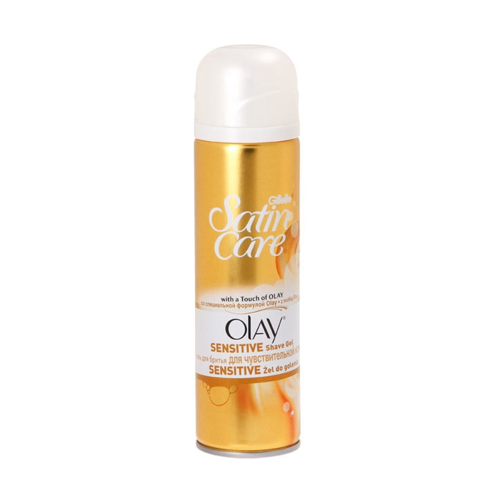 Gillette Satin Care Touch of Olay Shave Gel 200ml