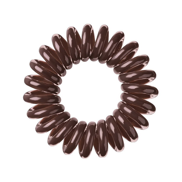 Invisibobble Hair Ring Brown 3-pack
