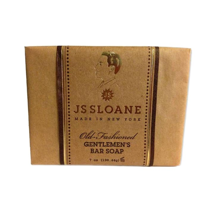 JS Sloane Old Fashioned Bar Soap 198g