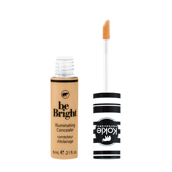 Kokie Be Bright Illuminating Concealer - Medium Beige