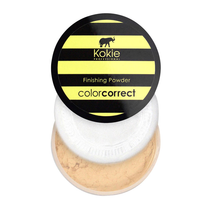 Kokie Color Correct Setting Powder - Yellow Darkness Correction