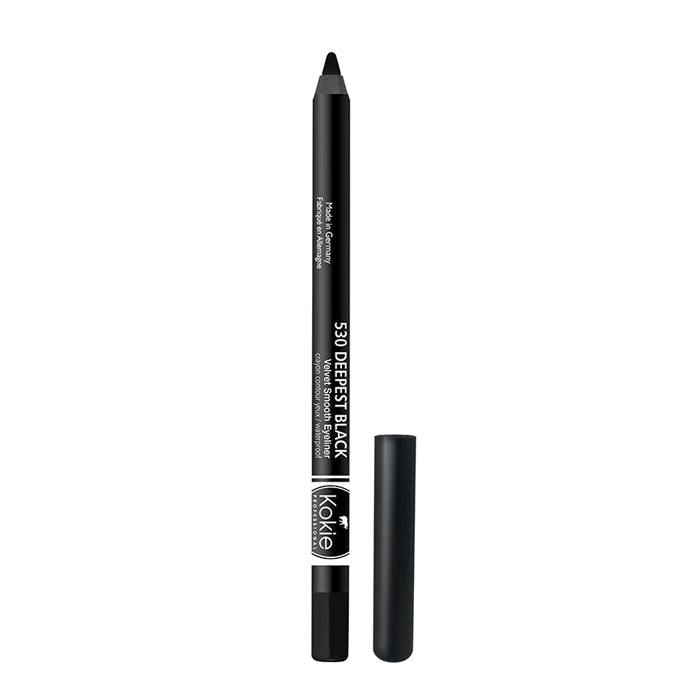 Kokie Velvet Smooth Eyeliner - Deepest Black