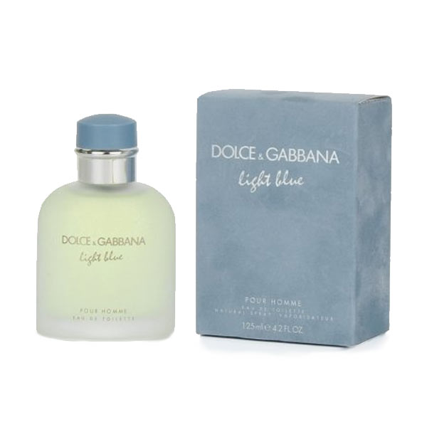 Light Blue Homme Eau de Toilette Spray 125ml