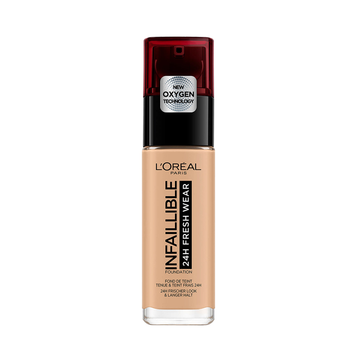 Loreal Infallible 24H Fresh Wear Foundation 200 Sable Dore Golden Sand