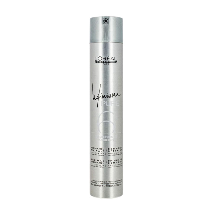 LOreal Infinium Pure Extra Strong Hairspray 500ml