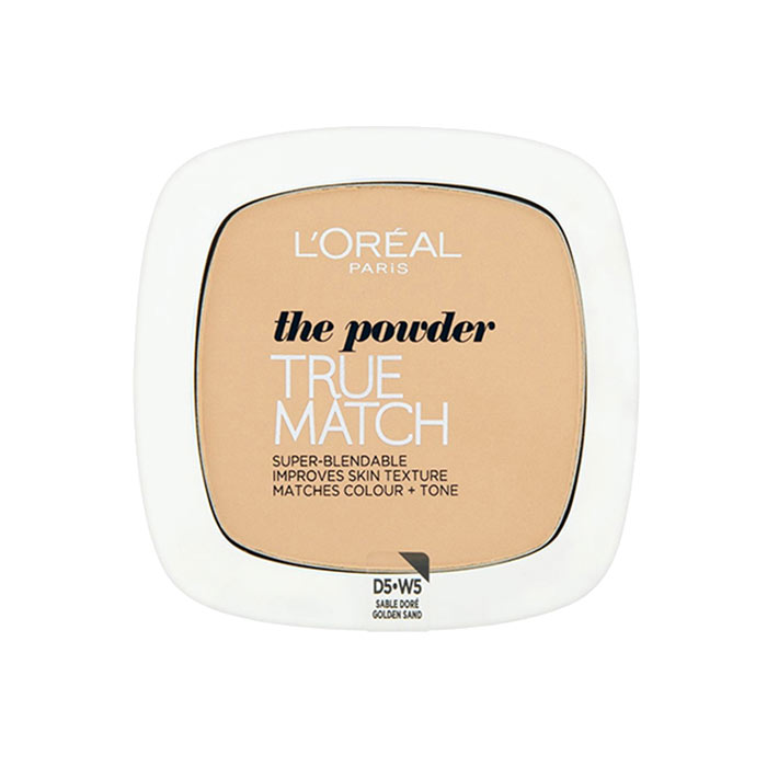 LOreal True Match Powder W5 Golden Sand 9g