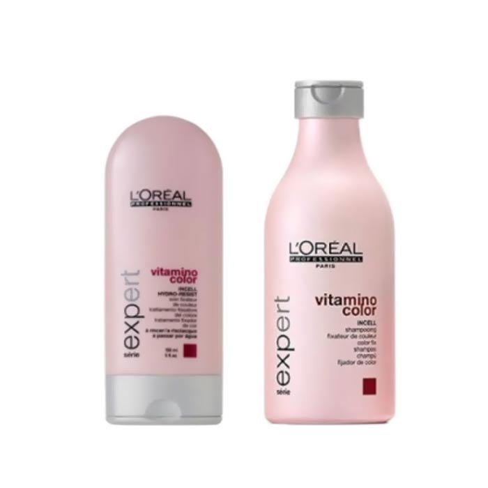 Loreal Vitamino Color Shampo 250ml + Balsam 150ml