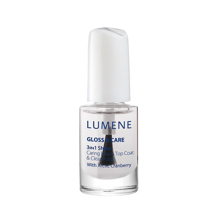 Lumene Gloss & Care 3-In-1 Shine Caring Base & Top Coat 5ml