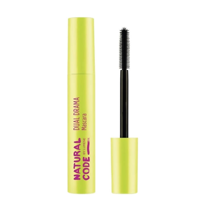 Lumene Natural Code Dual Drama Mascara Black 12ml