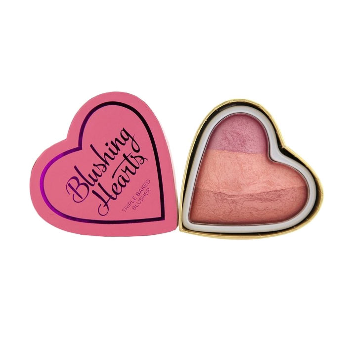 Makeup Revolution Blushing Hearts - Candy Queen of Hearts Blush