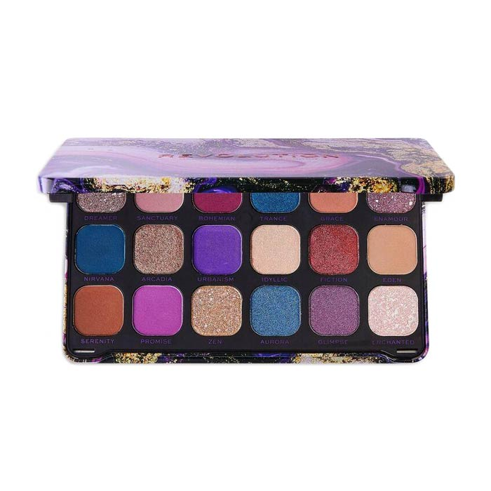 Swish Makeup Revolution Forever Flawless Eyeshadow Palette - Decadent