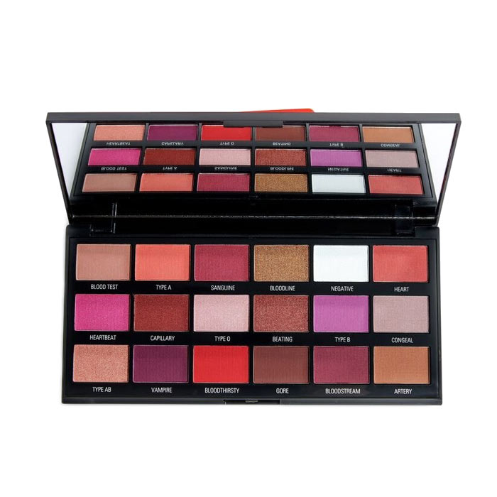 Makeup Revolution I Heart Revolution Blood Chocolate Palette