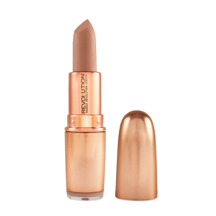 Makeup Revolution Iconic Matte Nude Lipstick - Expose