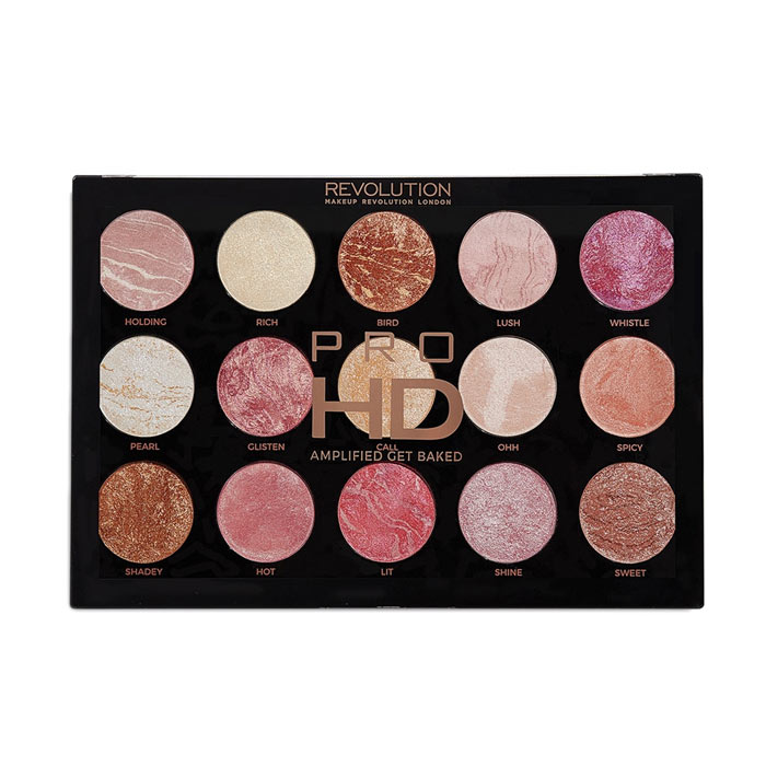 Makeup Revolution Pro HD Amplified Palette Get Baked