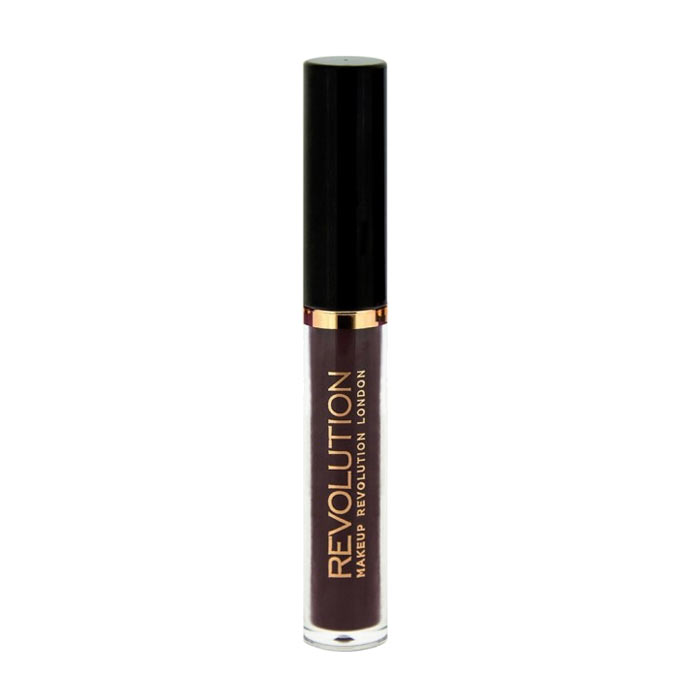 Makeup Revolution Salvation Velvet Lip Lacquer - Black Heart