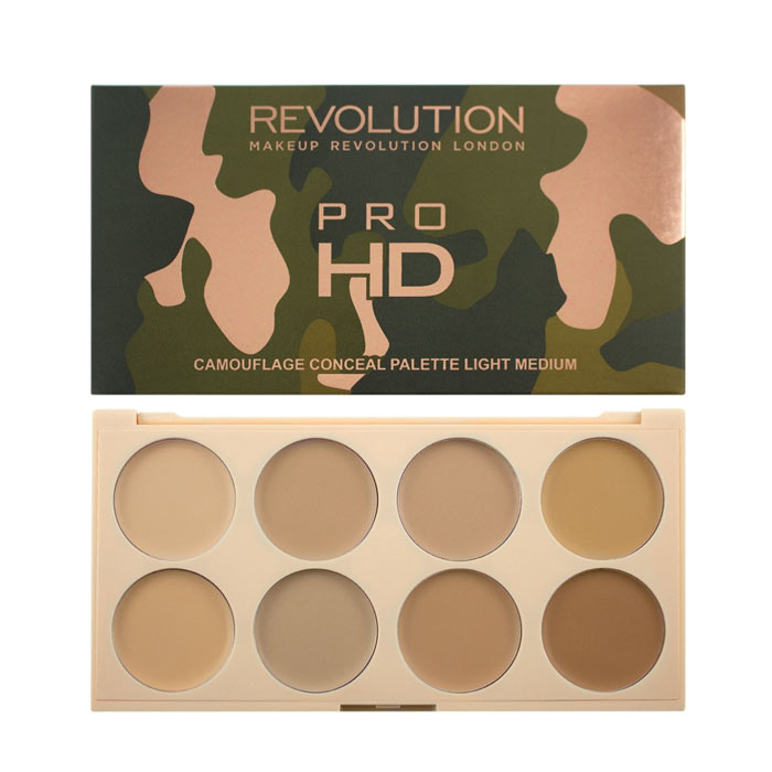 Makeup Revolution Ultra HD Camouflage Light Medium
