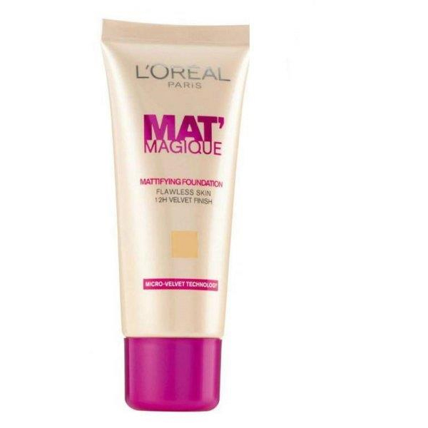 Mat Magique Mattifying Foundation 25ml Light Sand #03