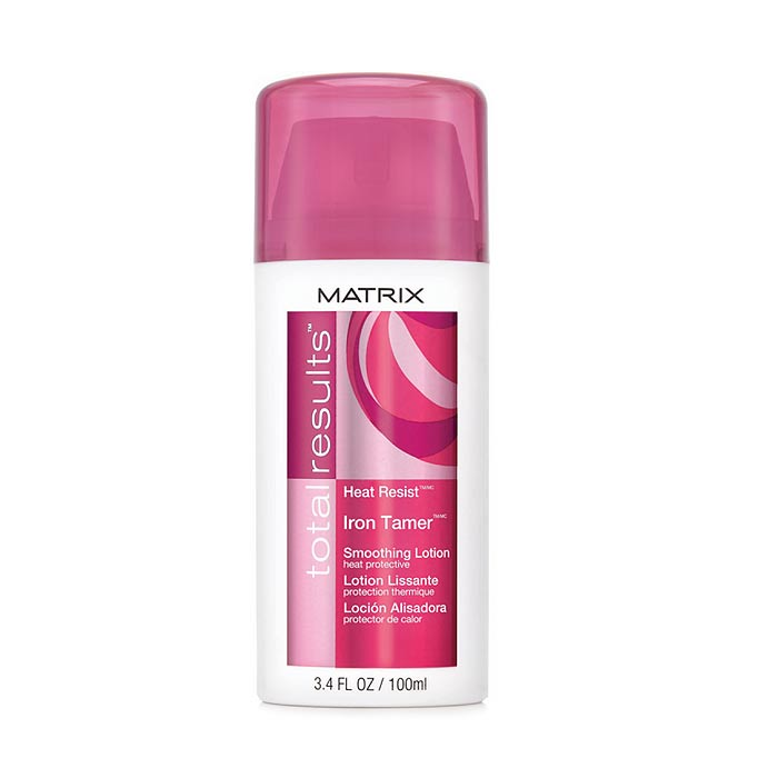 Matrix Total Results Heat Resist Iron Tamer Smoothing Lotion 100ml