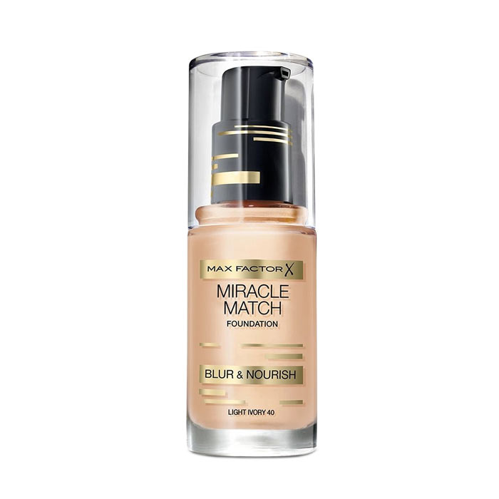 Max Factor Miracle Match Foundation Light Ivory 40