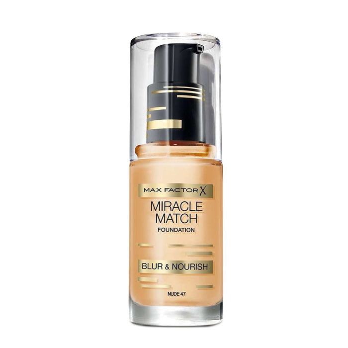Max Factor Miracle Match Foundation Nude 47