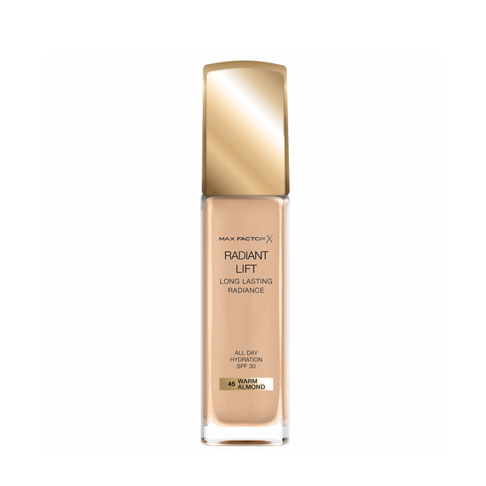 Max Factor Radiant Lift Foundation 30ml - 45 Warm Almond