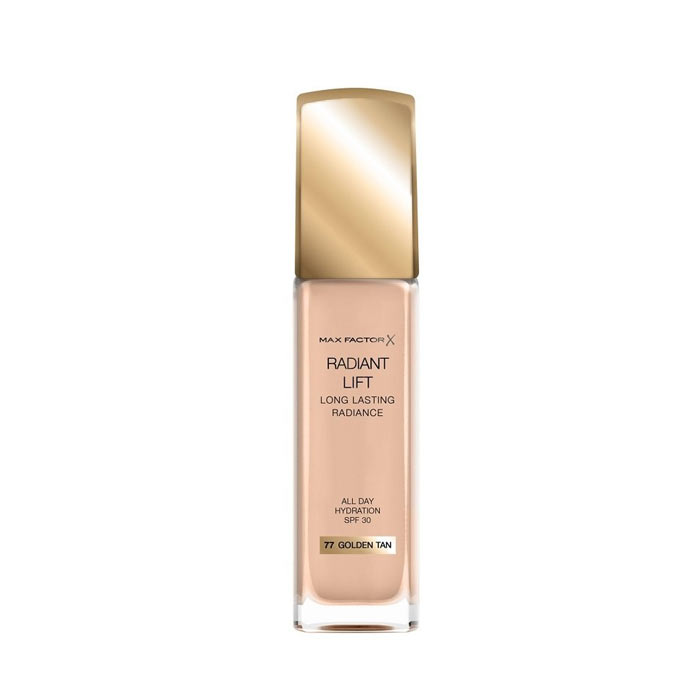 Max Factor Radiant Lift Foundation 30ml - 77 Golden Tan