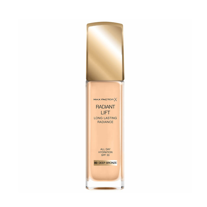 Max Factor Radiant Lift Foundation 30ml - 80 Deep Bronze