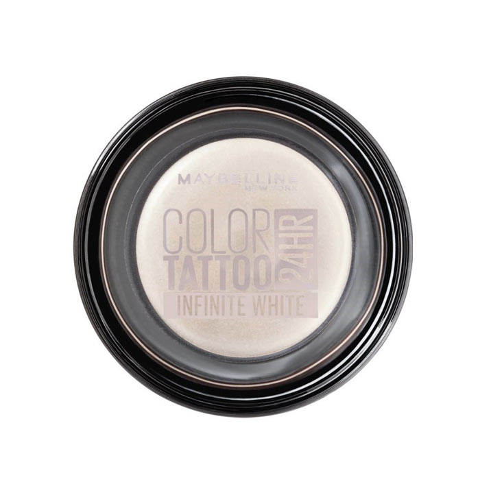 Maybelline Color Tattoo 24H Cream Eyeshadow - Infinite White