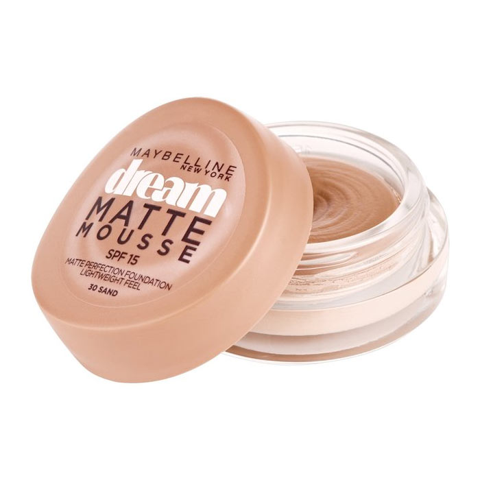 Maybelline Dream Matte Mousse Foundation 18ml 30 Sand
